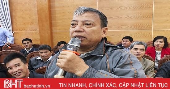 Cán bộ, đảng viên Đức Thọ thẳng thắn đối thoại với người đứng đầu huyện
