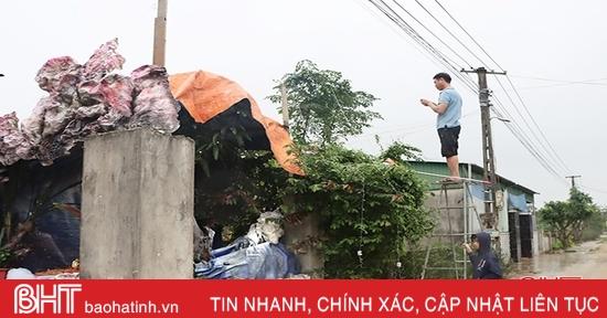 Cẩn trọng trong sử dụng điện cho công trình trang trí đón Noel ở Hà Tĩnh