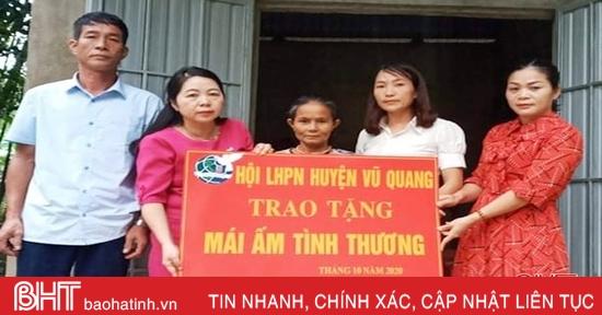 Chăm lo cho bệnh nhân nghèo và phụ nữ có hoàn cảnh khó khăn ở Vũ Quang