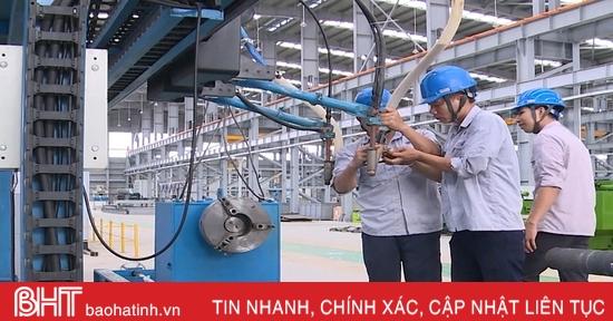 Chỉ số sản xuất công nghiệp Hà Tĩnh tháng 10 tăng 9,3% so với cùng kỳ