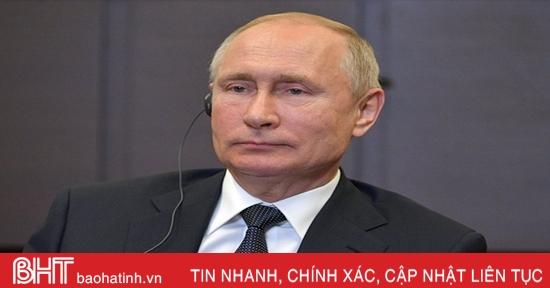 Chương trình đối thoại trực tuyến thường niên của Tổng thống Putin với người dân bị hủy