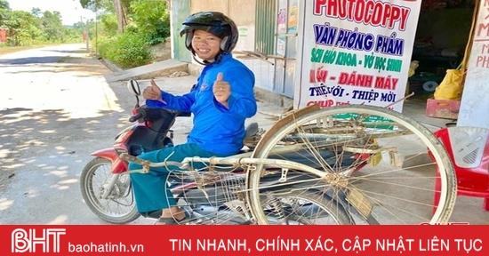 Chuyện chàng cử nhân đại học bằng giỏi về làm bí thư chi đoàn ở Hà Tĩnh