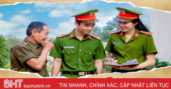Chuyện những nữ công an chính quy về xã ở Hà Tĩnh