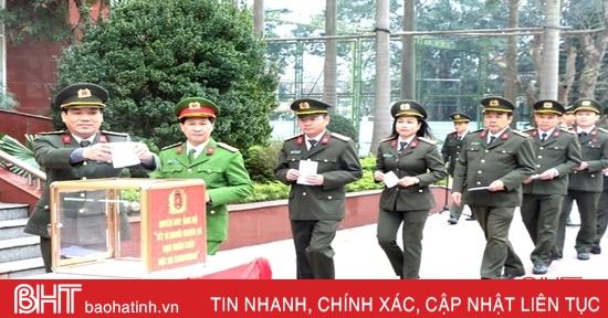 Công an Hà Tĩnh phát động ủng hộ Tết vì người nghèo, hỗ trợ nạn nhân da cam