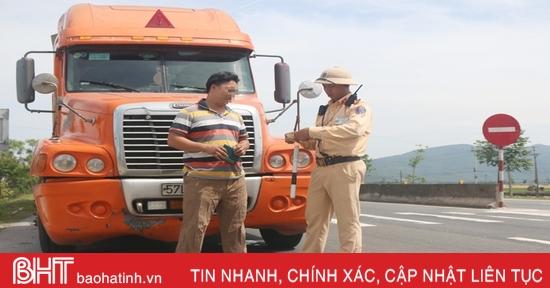 CSGT Hà Tĩnh xử phạt vi phạm giao thông hơn 44 tỷ đồng