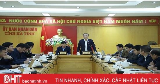Cụ thể hóa nhiệm vụ, thực hiện đề án đẩy mạnh xuất khẩu Hà Tĩnh giai đoạn 2021 - 2025