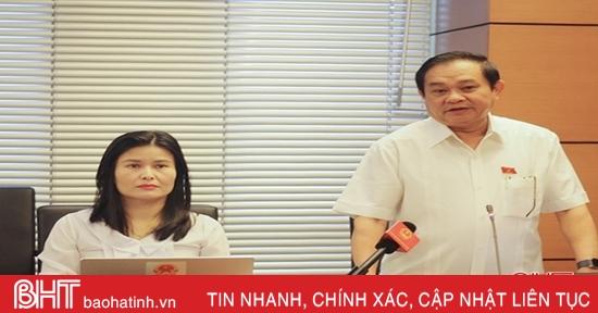 Đại biểu Quốc hội Hà Tĩnh: Cần thực hiện thí điểm lực lượng tham gia bảo vệ ANTT ở cơ sở