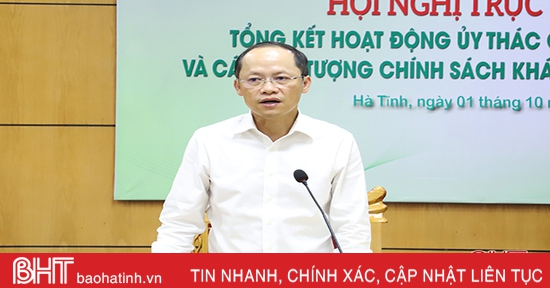 Đáp ứng kịp thời nhu cầu vay vốn của người nghèo, đối tượng chính sách ở Hà Tĩnh