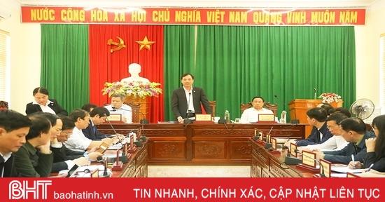 Đặt mốc thời gian cụ thể, hoàn thành các vụ việc công dân Hà Tĩnh kiến nghị