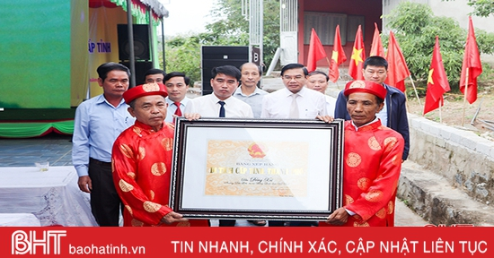 Đền Đông Xá đón bằng công nhận di tích lịch sử văn hóa cấp tỉnh