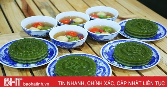 Đẹp lạ những món ăn chay dâng lễ Vu lan của chị em Hà Tĩnh