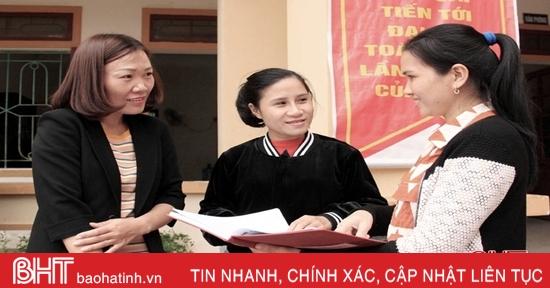 Điểm tựa bình yên của phụ nữ làng rèn Trung Lương