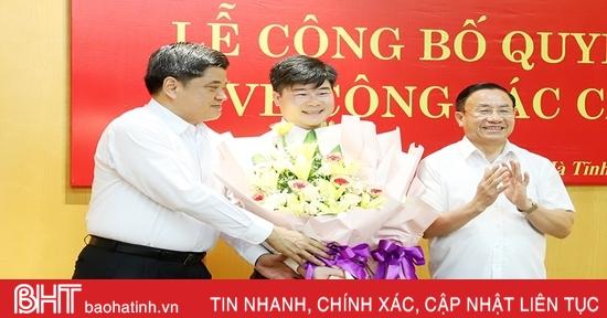 Điều động cán bộ Trung ương về làm Phó Chánh Văn phòng Điều phối NTM Hà Tĩnh