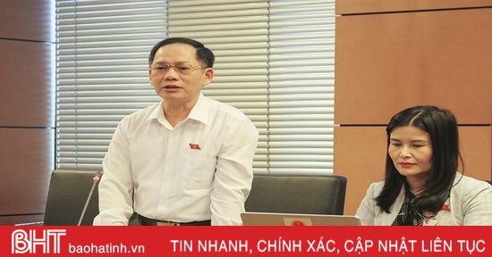 Đoàn ĐBQH Hà Tĩnh góp ý dự thảo văn kiện trình Đại hội Đảng toàn quốc lần thứ XIII