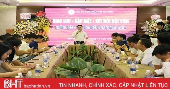 Doanh nhân trẻ Hà Tĩnh tăng cường kết nối, phát triển cộng đồng doanh nghiệp