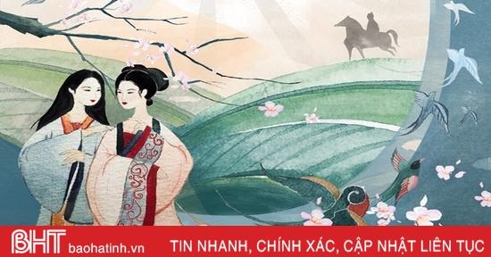 Đọc Truyện Kiều qua đồ án tốt nghiệp của nữ họa sỹ Hà Tĩnh