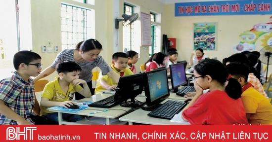 Đổi mới phương pháp, thúc đẩy sáng tạo trong dạy và học ở Hà Tĩnh