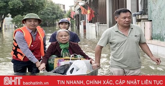 Dự án chữ thập đỏ nâng cao năng lực ứng phó thiên tai cho người dân Hà Tĩnh