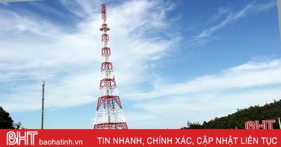 Đưa vào hoạt động Trạm phát sóng BTS Kỳ Xuân, chào mừng Đại hội Đảng bộ Hà Tĩnh