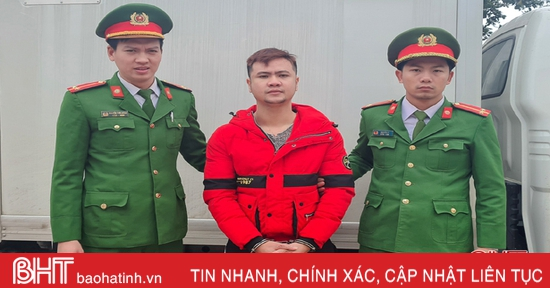 Dùng tuýp sắt đánh người, 1 đối tượng ở Hương Sơn bị khởi tố