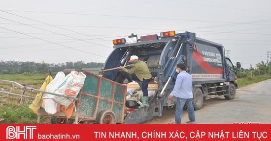 Được hỗ trợ phương tiện hiện đại, HTX môi trường ở Hà Tĩnh mở rộng phạm vi thu gom rác