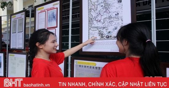 Gần 3.000 học sinh Hà Tĩnh hiểu hơn về Hoàng Sa, Trường Sa của Việt Nam