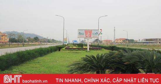 Gần 4 tỷ đồng tạo điểm nhấn cảnh quan trung tâm huyện Lộc Hà