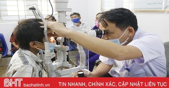 Gia tăng các bệnh về mắt ở Hà Tĩnh, người dân không nên chủ quan