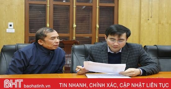 Giải quyết đầy đủ, trả lời thấu đáo cho công dân TP Hà Tĩnh