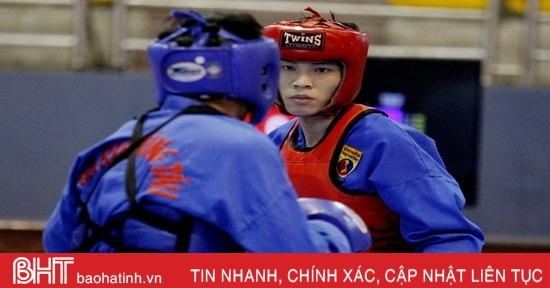 Giải Vô địch Vovinam toàn quốc tại Hà Tĩnh: 18 bộ huy chương đã có chủ nhân