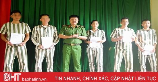 Giảm án, tha tù trước thời hạn cho 319 phạm nhân thụ án tại Hà Tĩnh