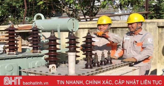Giúp công nhân điện lực Hà Tĩnh an toàn khi lên lưới