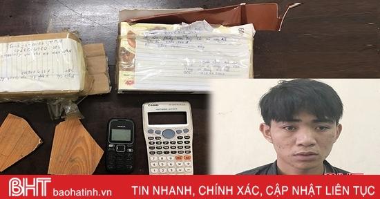 Hà Tĩnh: Bắt đối tượng lừa bán iPhone, giao hàng cục gạch