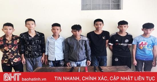 Hà Tĩnh: Giải quyết mâu thuẫn bằng kiếm, 5 đối tượng bị khởi tố