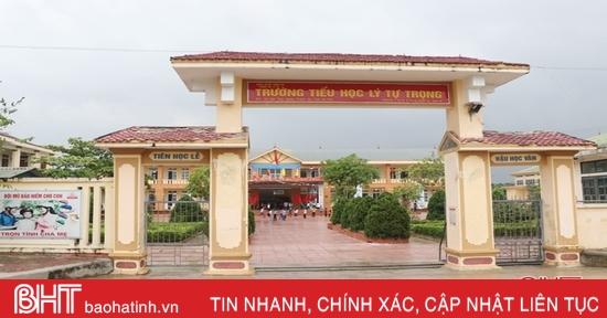 Hà Tĩnh giảm 33 trường công lập năm học 2020-2021