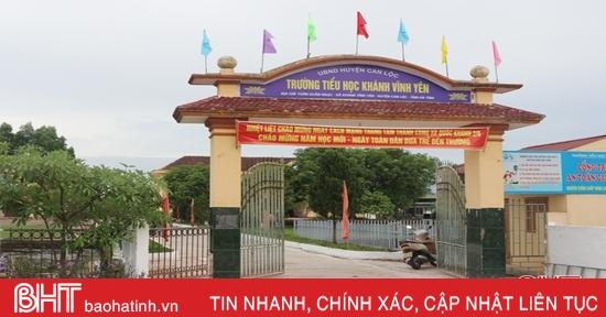 Hà Tĩnh giảm 34 đầu mối giáo dục công lập