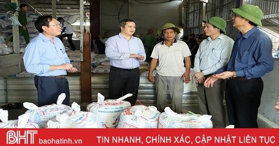 Hà Tĩnh hỗ trợ người dân sấy lúa, đảm bảo an ninh lương thực