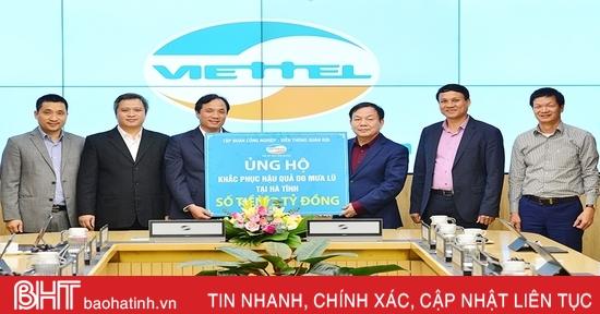 Hà Tĩnh luôn đồng hành với Viettel thúc đẩy phát triển kinh tế số