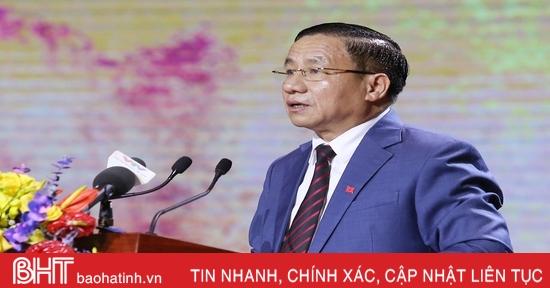 Hà Tĩnh nguyện cùng Nhân dân cả nước gìn giữ, phát huy di sản của Đại thi hào Nguyễn Du, xây dựng quê hương ngày càng giàu mạnh