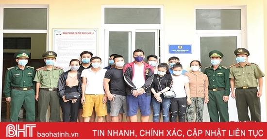 Hà Tĩnh: Phá chuyên án đưa người vượt biên trái phép