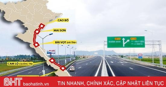 Hà Tĩnh phấn đấu hoàn thành GPMB dự án cao tốc Bắc - Nam trong tháng 9