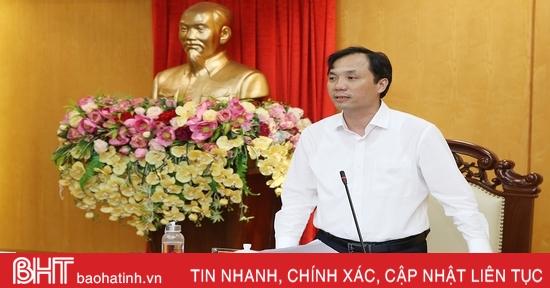 Hà Tĩnh quyết tâm chính trị cao cho mục tiêu phát triển kinh tế - xã hội năm 2021