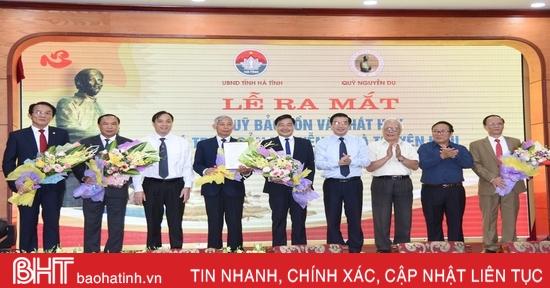 Hà Tĩnh ra mắt Quỹ Bảo tồn và phát huy giá trị di sản Nguyễn Du và Truyện Kiều