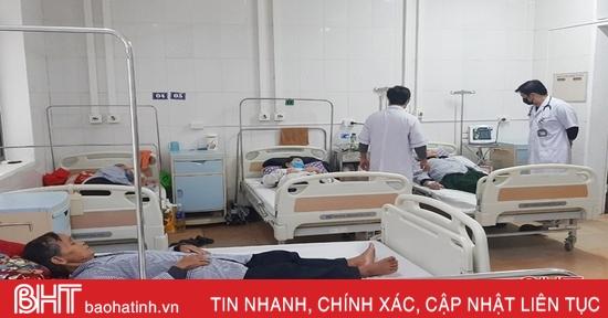 Hà Tĩnh: sẵn sàng thu dung và cấp cứu miễn phí cho nạn nhân do ảnh hưởng mưa lũ