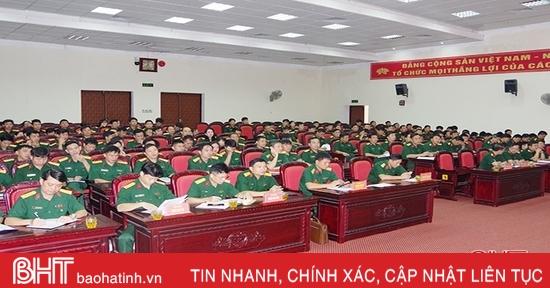 Hà Tĩnh thông báo nhanh kết quả Đại hội Đảng bộ Quân đội lần thứ XI