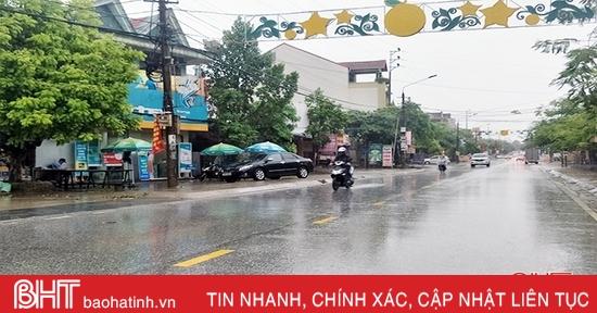 Hà Tĩnh tiếp tục mưa rét, áp thấp giật cấp 9 xuất hiện trên Biển Đông