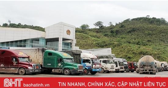 Hải quan Cửa khẩu quốc tế Cầu Treophấn đấusớm hoàn thành thu ngân sách 100 tỷ đồng
