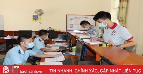 Hải quan Hà Tĩnh truy thu hơn 3,2 tỷ đồng sau thông quan