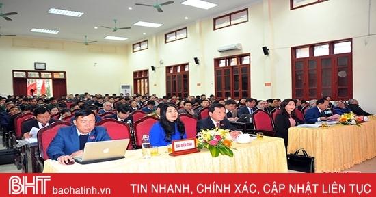 HĐND các địa phương Hà Tĩnh họp phiên thường kỳ cuối cùng của nhiệm kỳ