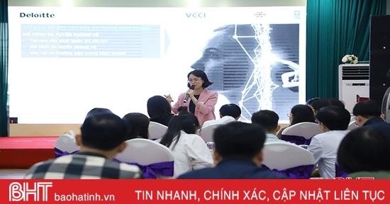 Hỗ trợ doanh nghiệp Hà Tĩnh nâng cao hiệu quả quản trị công ty
